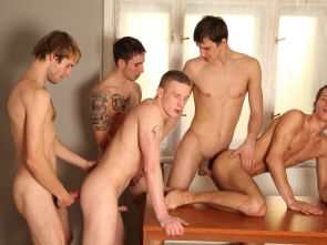 Bareback Hospital Orgy Part 2