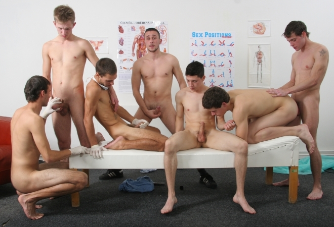 Gang Bang Exclusive Fucking Gang - Coming soon on Hammerboys.tv