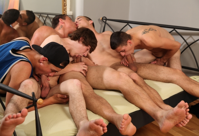 Dirty Pillow Talks 5 Hot Twinks