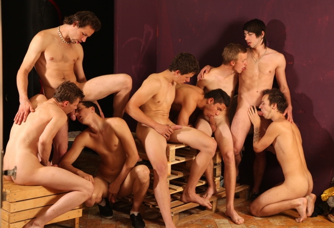 Gang Bang Fraternity I