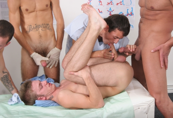 Sex Clinic Gang Bang next episode From Hammerboys
