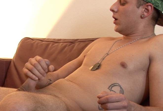Shy Guy Marek Dvorak Huge Cum