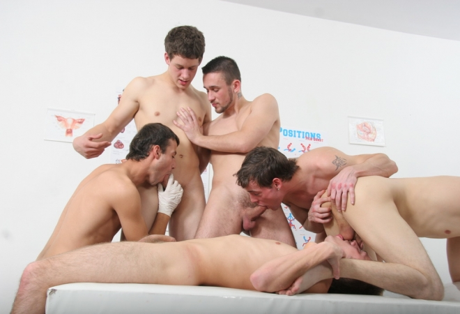 Raw Gang Bang Therapy Part2